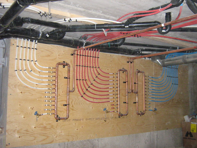 Custom copper manifold for my house diy