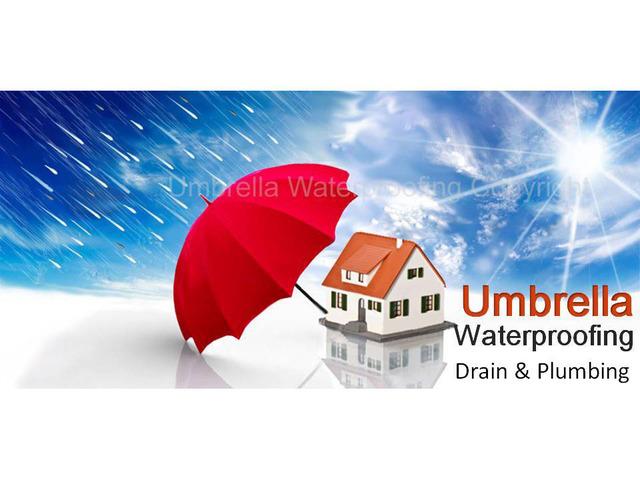 Umbrella Waterproofing Drains And Plumbing Solutions Has