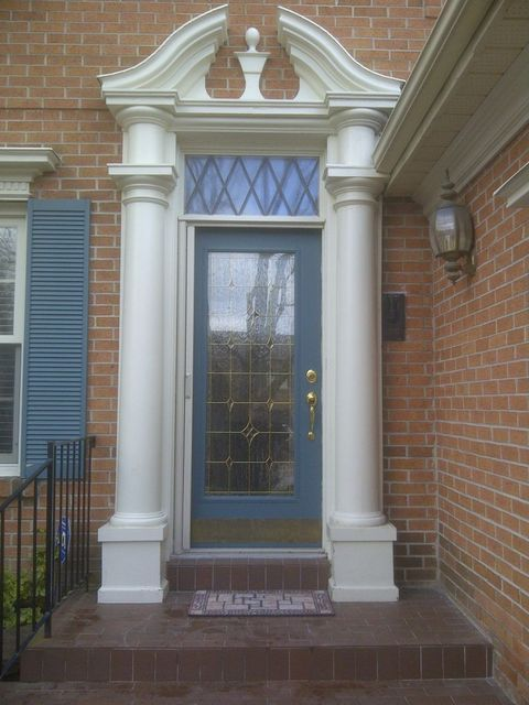 Fiberglass Column Installation : Capital columns and trim has reviews average rating