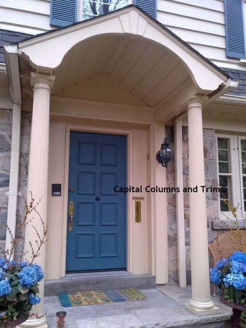 Capital columns and trim has 31 reviews and average rating for Fluted fiberglass columns