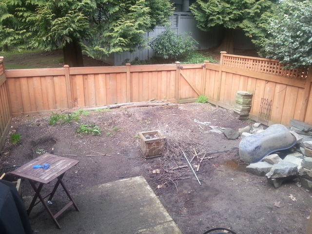 of backyard landscaping from a transformations landscaping review
