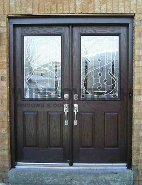 Fiberglass Entry Doors With Glass Inserts : Windowtech has reviews and average rating of