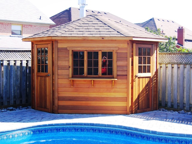 5 sided pool shed plans – 5 Sided Garden Shed Plans