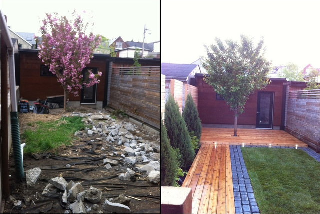 Gorgeous Small Backyard Landscaping Before And After 24 At Inspiration Article