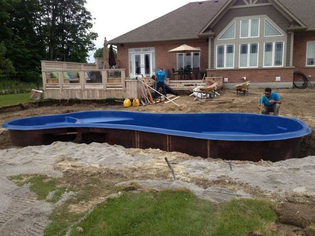 Durham fibreglass pools has 20 reviews and average rating for Fiberglass pool installation