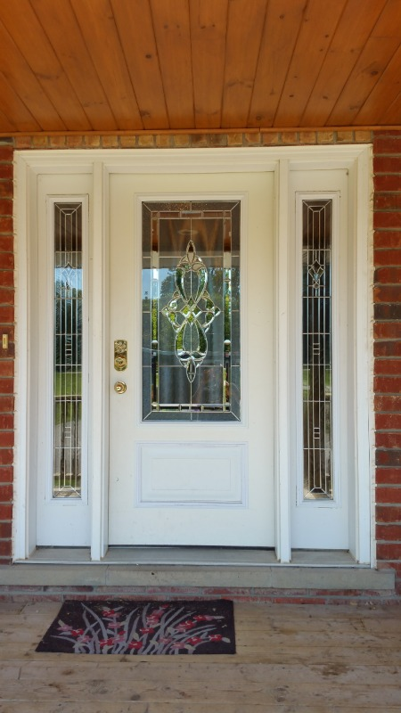 Distinctive glass inserts rated 10 out of 10 by craig i - Decorative glass exterior door inserts ...